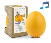 Vařič vajec BeepEgg s melodiemi pro vaření vajec naměkko, hniličko i na tvrdo
