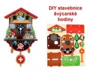 Švýcarské hodiny DIY | dětská stavebnice