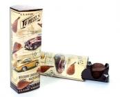 Čokoládové chipsy z mléčné čokolády a lískovými oříšky