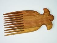Dřevěný hřeben Anděl