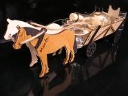 Dárky motiv koně, dárek kůň, koňské dekorace, lahev