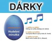 Modrá - 3x melodie, hudební vaječná minutka