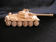 Ruský tank T72 hračka, pojízdný s otočnou věží i kulometem.