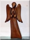 Andělíček I. 23 cm, dřevěné sošky