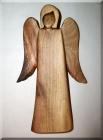 Soška Anděla, materiál švestka, 17 cm