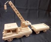 Drezína hračka - vláčky ze dřeva