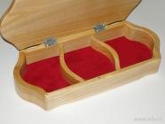 Krabičky na šperky - přepážky k dokoupení na dotaz