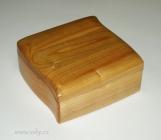 Krabička na šperky světlá česká výroba