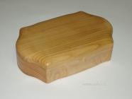 Šperkovnice dřevěná tvarovaná české výroba