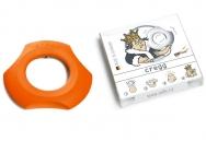 Cregg pomeranč - bezpečný otvírák vaječné skořápky. Dárky pro muže.