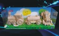 Dětský vláček nákladní s vagonkama