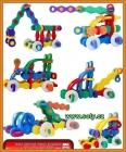 Stavební stroje stavebnice hračky