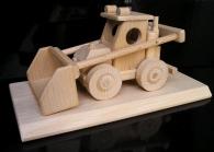 Buldozer na podstavě - dárky pro řidiče