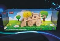 Zemědělský nakladač Bobík, dřevěná hračka