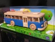 Modrý autobus v dětském dárkovém balení