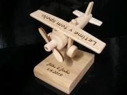 Letadlo dárek k narozeninám