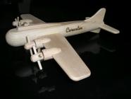 Vojenské letadlo hračka