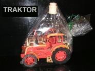 Dárkové láhve a sklo na alkoho  | 6x sklenička | traktor