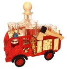 Dárková láhev hasič, požárník