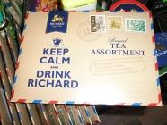 RICHARD | 3 druhy porcovaných čajů v dárkové obálce