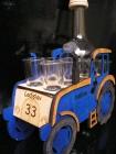 Dárek modrý traktor pro traktoristu
