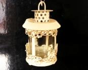 Vánoční lucerna pro betlémské světlo