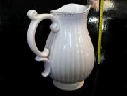 Bílá váza džán, dekorační keramika