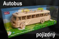 Dřevěný autobus Škoda 706 RTO LUX