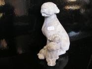 Kamenina pes, pejsci figurky zahradní bytová dekorace