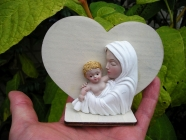 Srdce Madona s dítětem, dárek z lásky