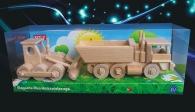 České hračky (buldozer + nákladní Tatra)