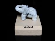 Slon pro štěstí, dekorace, dárek, MAGNEZIT