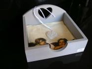 Krabička box škatulka na papírové ubrousky