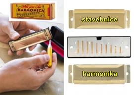 Foukací harmonika DIY stavebnice | dětské hudební nástroje