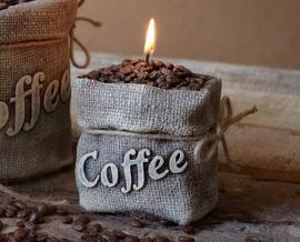Svíčka káva | kafé | kafíčko | zrnková káva