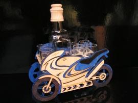Dárky pro motorkáře | motorka láhev
