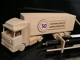 Věk potisk k 50 narozeninám kamion