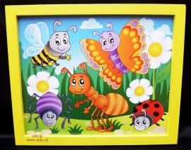 Obrázky na stěnu pro děti. Dětské dekorace na zeď.