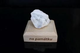 Magnezit surový minerál kámen pro štěstí