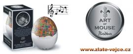 Odborníci z Německa přišli s něčím opravdu inovativním a zajímavým. Není to vejce, které snad zajódluje, avšak zpívající plovoucí hudební časovač vaření vajíček, jenž umožní i s populární melodií dosá