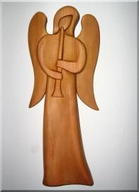 Andělíček s trubkou