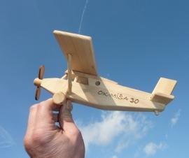 Pilatus letadlo hornoplošník hračka