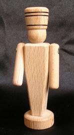 Vojáček ze dřeva 9 cm - dřevěné hračky