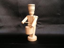 Dřevěný vojáček - bubeník,