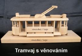 Prvorepublikové tramvaje s věnováním