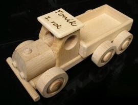 Nákladní auto hračka dárek k narozeninám