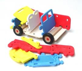 3D penove auto hracky