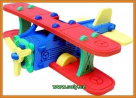 Letadlo za pěny hračka