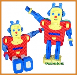 robot hračky