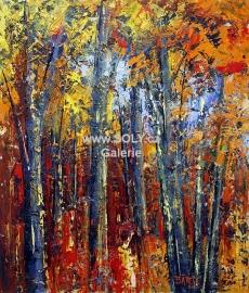 Originální obraz, olej na desce, 49x58 cm, české umění, cena 11.000,-